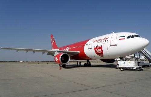 самолет Qeshm Air